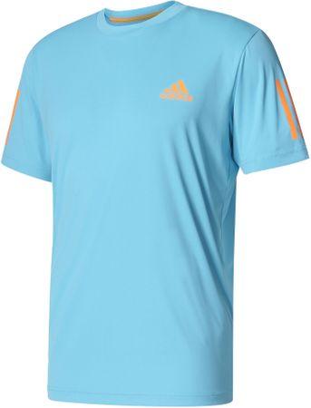 Adidas Club Tee Samba Blue /Glow Orange S