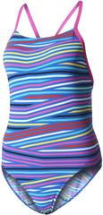 Adidas strój kąpielowy Inf+Th.St.1Pcgb Shock Pink /Blue