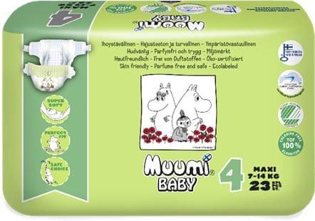 MUUMI BABY 4 Maxi (7-14 kg) 23 db