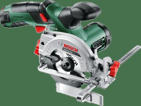 Bosch akumulatorska krožna žaga UniversalCirc 12, 1 x aku 2,5 Ah (06033C7002)