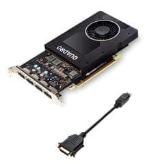 PNY grafička kartica NVIDIA VGA QUADRO P2000 VCQP2000-PB