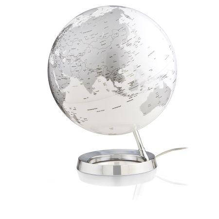 Tecnodidattica globus LC FI-30, Bright Crome, angleški