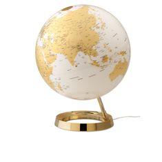 Tecnodidattica globus LC FI-30, Bright Gold, angleški