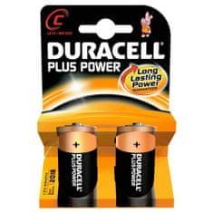 Duracell alkalne baterije Plus Power MN1400 C - LR14, (2 kosa)