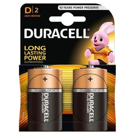 Duracell alkalne baterije MN1300 D - LR20 (2 kosa)