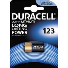 Duracell baterija CR123 3 V