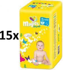 Magics Easysoft 5 Junior (11-25 kg) Multipack 150 ks (15x10 ks)