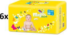 Magics Easysoft 5 Junior (11-25 kg) Megapack 252 ks (6x42 ks)