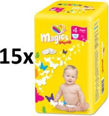 Magics Easysoft Maxi (7-18kg) Multipack Pelenka, 180 db