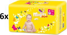 Magics Easysoft 4 Maxi (7-18 kg) Megapack 288 ks (6x48 ks)