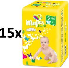 Magics Easysoft 3 Midi pelenka (4-9 kg) 210 db (15x14 db)