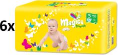 Magics Easysoft 3 Midi (4-9 kg) Mega pack 324 ks (6x54 ks)