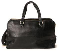 Bobby Black pánska čierna taška BM1006