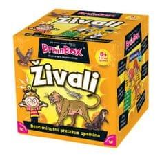 BRAINBOX družabna igra Živali 8+