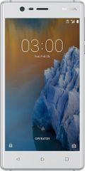 Nokia mobilni telefon 3 Dual Sim, srebrni