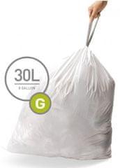 Simplehuman vreće za smeće tipa G (30 l), 100 komada