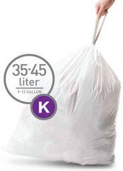 Simplehuman vreće za smeće tipa K (35 - 45 l), 60 komada