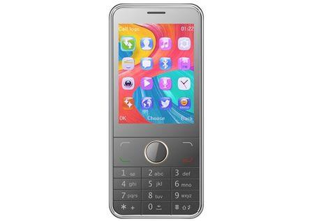 eStar GSM telefon A28 Dual Sim, srebrn