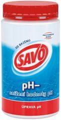 Savo Do Bazénu - Ph- snížení hodnoty ph 1,2 kg