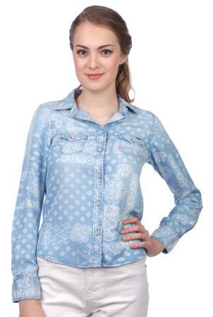 d66efec5c Pepe Jeans koszula damska Freedom S niebieski | MALL.PL