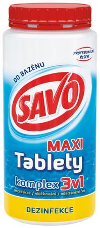 Savo Do Bazénu - Maxi tablety komplex 3v1 1,4 kg