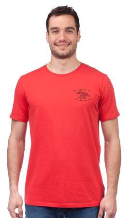 GLOBE moška majica Wokstar S rdeča