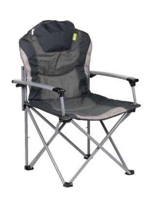 Kampa stol za kampiranje The Guv'nor, črn