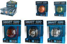 TM Toys Smart Egg útvesztő fejtörő 6x5cm