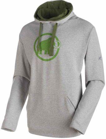 Mammut moška jopa Logo ML Hoody, siva, M