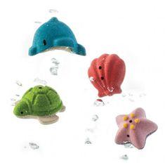 Plan Toys Komplet za kopanje - morsko življenje