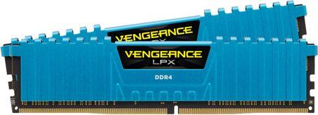 Corsair pomnilnik Vengeance LPX 16GB (2x8GB) DDR4 3000 (CMK16GX4M2B3000C15B)