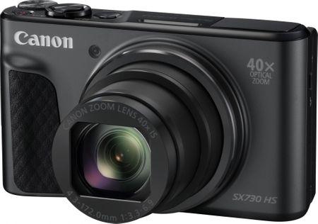 Canon kompaktni digitalni fotoaparat PowerShot SX730 HS, črn