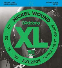 Daddario EXL220S Struny na basgitaru