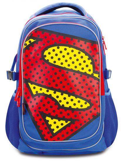 BAAGL Školní batoh s pončem Superman – POP - zánovní