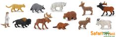 Safari Ltd. Tubus - Észak-Amerika állatai