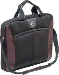"""Wenger SHERPA - vékony táska 16"""" notebookra, burgundy"""