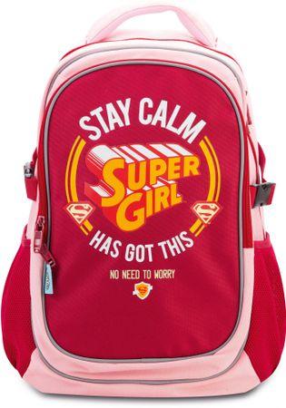 BAAGL Supergirl Stay Calm Hátizsák poncsóval