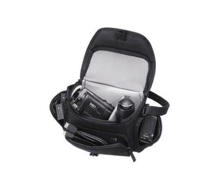 Sony torbica za fotoaparat LCS-U21B, črna