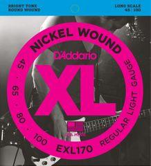 Daddario EXL170 Struny na basgitaru