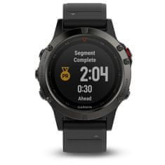 Garmin fénix 5 Grey, Black band