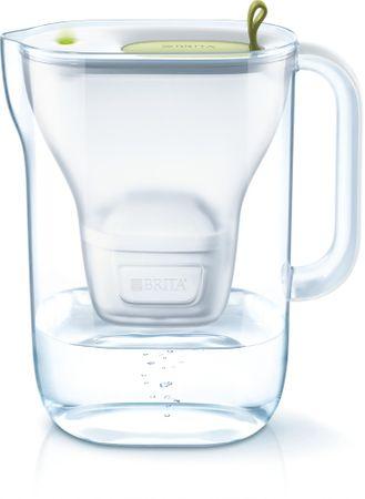 Brita vrč za vodo s filtrom Style MaxtraPlus 2,4 l, zelen
