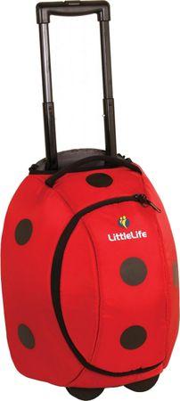 23bab6c3544ed LittleLife Detská cestovná taška Animal Wheelie Duffle - Lienka ...