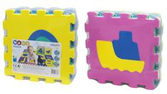 Unikatoy Spužvaste Puzzle Baby 24919, 9kom, vozila