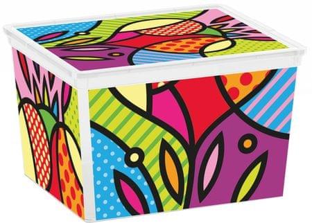 Kis škatla za shranjevanje C-Box Artists, Cube, 27 l