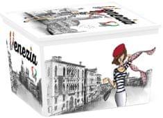 Kis pojemnik C-Box Viva Italia Cube, 27 l