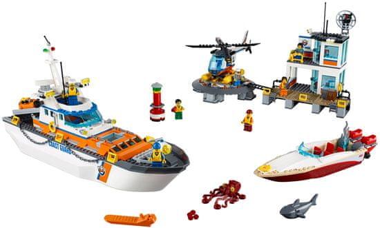 LEGO City 60167 Základňa pobrežnej hliadky