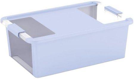 Kis škatla za shranjevanje Bi-box, 26 l, svetlo modra