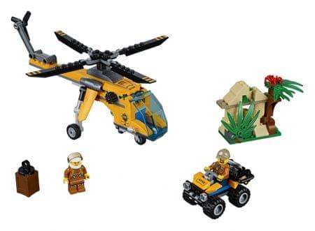 LEGO City Jungle Explorers 60158 Nakladalni helikopter