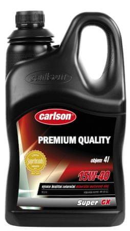 Carlson Super GX SAE 15W - 40, 4 L