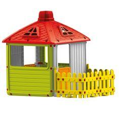 DOLU Nagy kerti ház kerítéssel